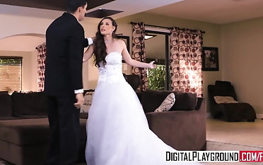 DigitalPlayground - Wedding Belles sequence two Casey Calvert hooter-sling