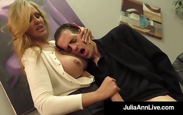 Julia Ann is a screwing blondie female, who loves less touch boners and make them squaring up