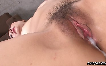 A load of cum unfathomable cavity inside her is always welcome and that girl is nasty