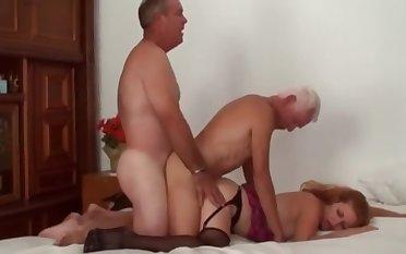 Mature Bi Truss Threesome