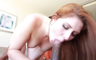 Cute Redhead owned by Bbc