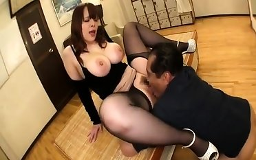BBW pussy at a loss for words with an increment of make the beast with two backs