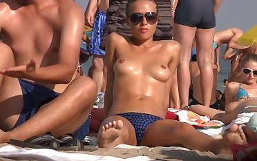 Girls on shore 124