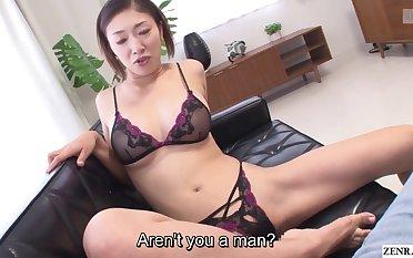 Japanese milf Reiko Kobayakawa proscribe lingerie modeling