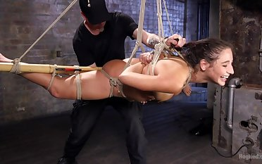 Submissive floozy endures a lot of ass fucking and brutal XXX