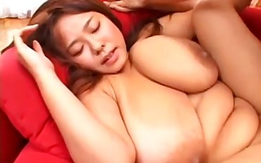 Nice Japanese Mature With Giant Juggs Makes Broadly