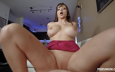 Unneeded to say that mommy rides cock better than their way daughter