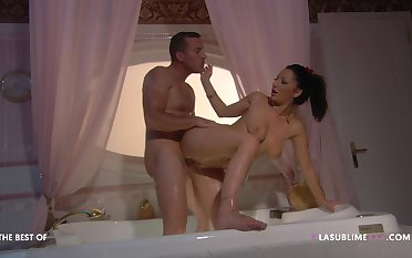 Become man feels rid geezer the rear end hole for a smashing anal tryout