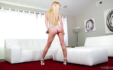 Hardcore indiscretion fucking ends with cum on face for Kenzie Reeves