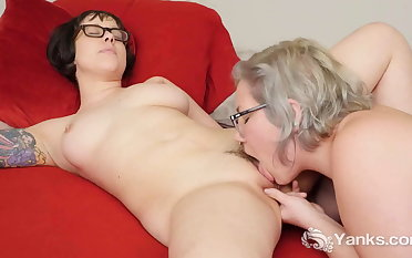 Naughty Yanks Lesbians Clementine With an increment of Vi