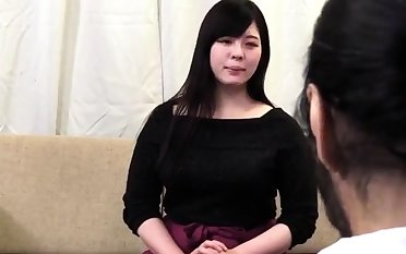Small titted asian girl Nicoline get
